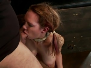blonde getting fucked and suffocated hardcore
