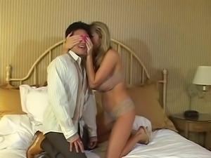 British slut Jamie gets fucked by a prize winner