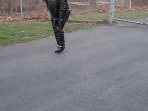 leather biker bitch