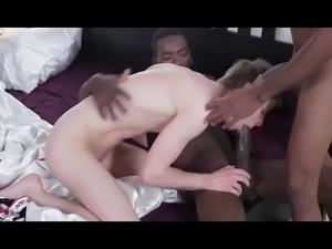 Teen Loving 2 Huge Black Cock (Very Hot)