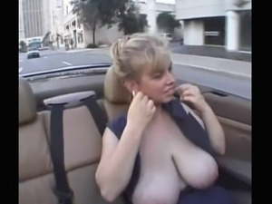 Blonde Huge-Boobs-Girl