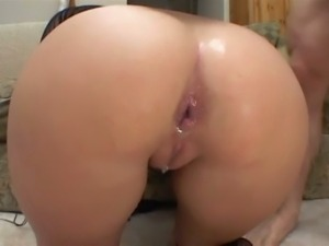 Dp creampie threesome with courtney cummz