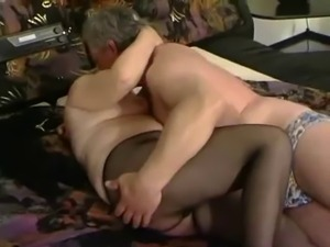 Ugly old women with flabby saggy tits