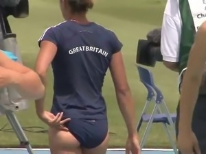 Jessica Ennis - UK Olympic Gold Medal ASS - Ameman