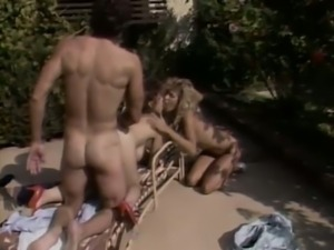 Ginger lynn and christy canyon get fucked hard