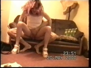 British amateurs fucking on the sofa