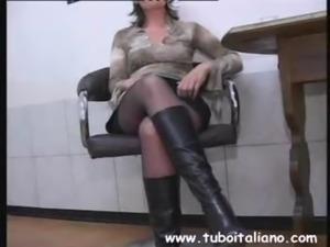 Italian Wife Thresome Moglie vuole 2 Cazzi free