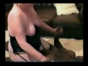 my mature wife ridding a HUGE black cock, and cums
