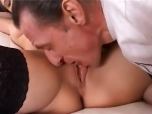 Fisting and deep ass sex with skinny