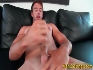 Good looking gay dude sucks stiff rod part3