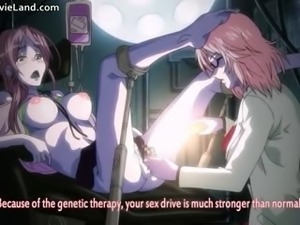Anime redhead chick gets fingered