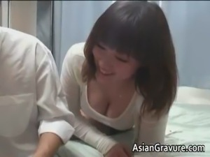 Hot asian home teacher with big juggs free