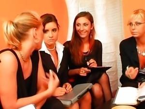 Czech Lesbians Orgy ..