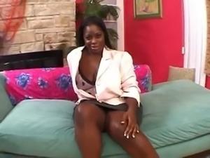 Plump ebony beauty Chayna White fucked hard