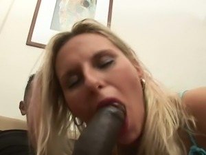 Hot blonde patricia interracial anal