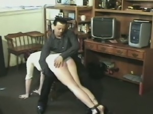 Vicious punishment with soothing enema