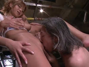 sumire matsu in amazing threesome