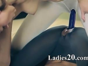 sweet hot lesbians in pantyhose
