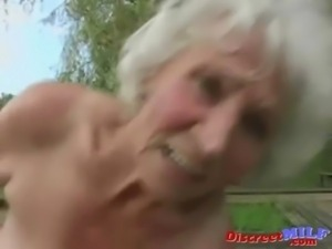Mature granny get fucked by young man free
