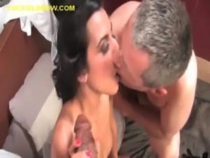 Cuckold Seeing Wife Take Black Cock free