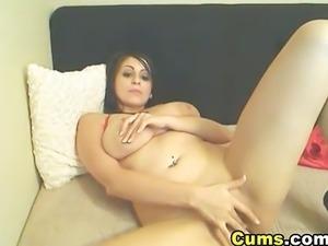 Big titties college girl masturbating