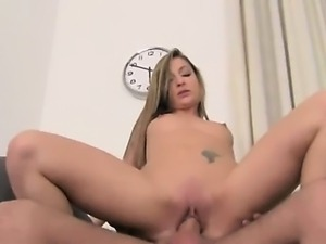 blonde having sex on fake audition