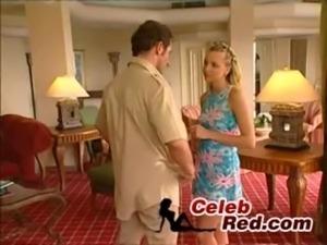 Blonde Teen Catch Her Neibour free