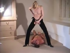 Mature dominatrix bizarre golden shower