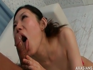 Asian Whore Cock Suck And Cum Swallow