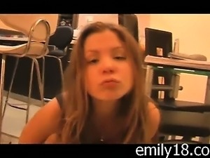 Emily's Perky Teen Tits
