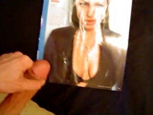 Cum Tribute - Angelina Jolie 2nd
