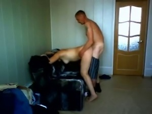 Russian whore and ugly old man (Hidden Cam)