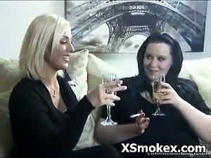Nasty Alluring Smoking Sex