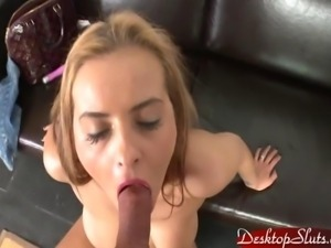 Candy Alexa Dirty Slut Sucking and Fucking some guy
