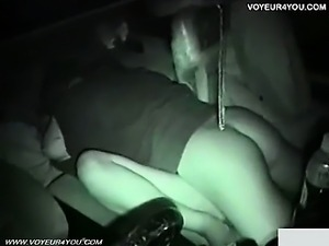 Car Seat Fucking At Night
