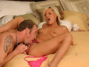 Eve Nicholson feels her asshole being stretched