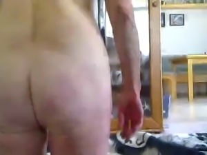 Granny Anal and gag