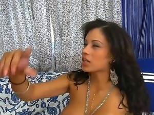 Dale Dabine enjoys having his hard cock deep sucked and fucked by horny Jamie...