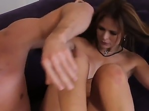 Bill Bailey enjoys having milf Monique Fuentes to deep suck and fuck his hard...