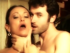 Experienced turned on pornstar James Deen enjoys licking mature tanned milf...