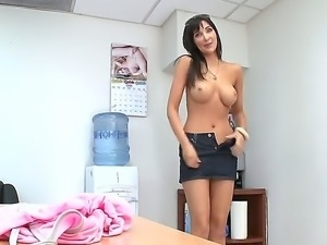 Gorgeous Diana Prince came on a sex casting, because she needs to make...