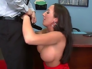Johnny Sins called his secretary Richelle Ryan for a serious conversation...