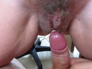 My wife drips on my cock