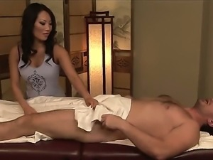 Experienced asian stunner Asa Akira with smoking hot body gives memorable...