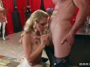 Cherie Deville is a kinky blond-haired milf that loves hard