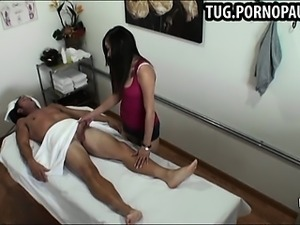 Asian massage girls caught having sex