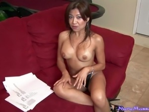 Jackie Lin is a cute asian porn actress with juicy