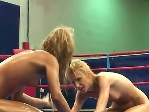 Two young and slender babes Babette and Ioana find out the relationship at...