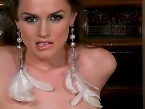 Tall and sexy lady Tori Black doesnt regret her own pussy fucking it with a...