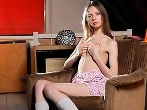 White socks and insanely skeletal girl